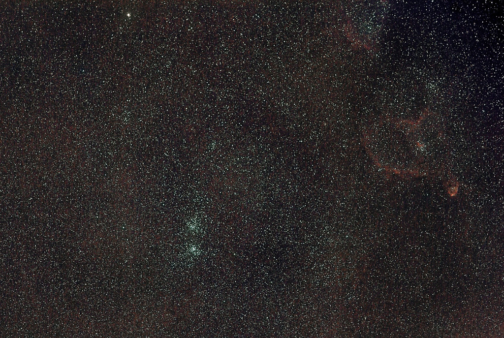 Double cluster (NGC869 and NGC884)