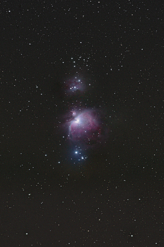 Orion and Running man nebula