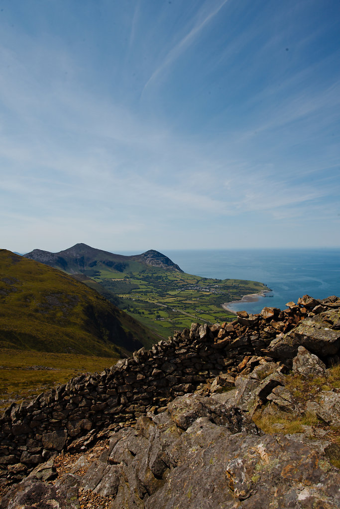 View from Gyrn Goch - Wales